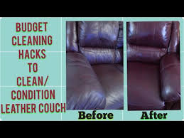 cleaning s for leather couch