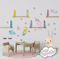Sea Wonder Decals Narwhal N Friends Never Never