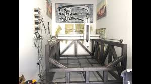 diy 3 axis long z cnc milling machine