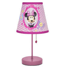 Disney Minnie Mouse Kids Room Table Lamp Walmart Com Walmart Com