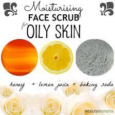 face scrub recipes for oily skin