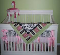 damask nursery ideas and baby bedding