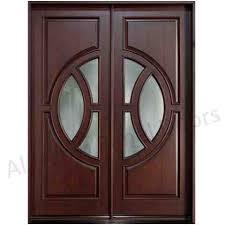 wooden drawing room door design