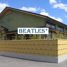 Small Fence Panels With Customized Size Fake Bamboo Materials For Villa House Beatlespark