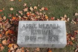 Addie Merrill Newman (1886-1978) - Find A Grave Memorial