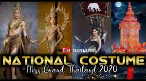 SPECTACULAR !!! TOP 10 FAVORITE NATIONAL COSTUME MISS GRAND THAILAND 2020  (KEMUDI EDITION) - YouTube