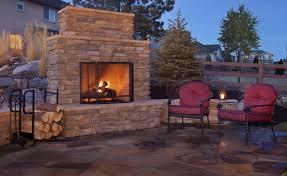 kingwood backyard fireplace outdoor