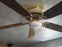 ceiling fan light install 5 steps