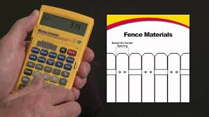 How To Estimate Fence Boards Rails And Posts Needed Material Estimator Youtube