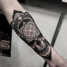 Tatuaze Czaszki 27 Mrocznych Wzorow Etatuator Pl