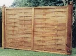 Interwoven Fence Panel Bingley Fencing And Timber Timber Fences Furniture Bradford West Yorkshire