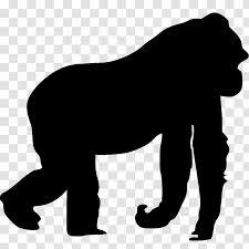 Gorilla Killing Of Harambe Car Animal Cat Decal Transparent Png
