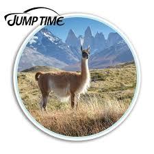 Jump Time Llama Alpaca Vinyl Stickers Machu Picchu Peru Sticker Laptop Car Funny Decal Trunk Window Car Covers Car Stickers Aliexpress