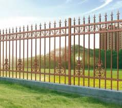 Antique Brass Color Wrought Iron Fence Residential Place Fence Panels Cheap Wrought Iron Fence Panels For Sale Model Dk0 For Sale Fence Manufacturer From China 107441683