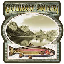 Cutthroat Country Trout 3 Pack Of Vinyl Decal Stickers 5 Walmart Com Walmart Com