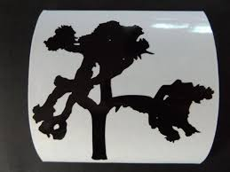 Joshua Tree Vinyl Decal Car Sticker Laptop Decal U2 Logo Etsy