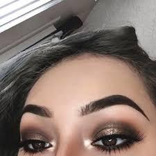 smokey eye makeup for christmas ideas