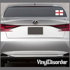 England Flag Sticker Car Decals Vinyl Bumper Stickers Car