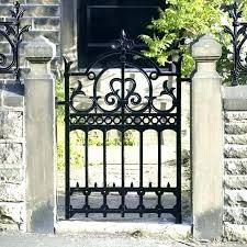 antique iron gates for