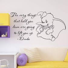 Amazon Com Wall Decals Dumbo Quote Wall Decal The Very Things Walt Disney Lettering Vinyl Sticker Home Room Disney Wall Decals Wall Quotes Decals Wall Decals