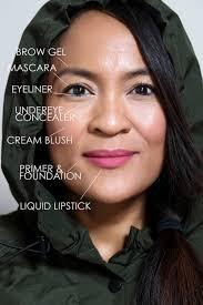 a rainy day minimalist makeup tutorial