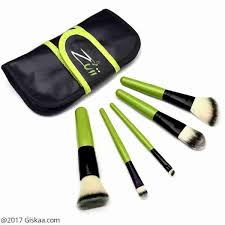 zuii organic makeup brush set at