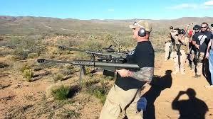 Dual Wielding Two Barrett 50 Cal Sniper ...