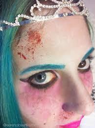 zombie face makeup tutorial part 2