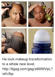 via 9 he took makeup