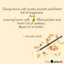 going home empty poc quotes writings by amrutha avidi