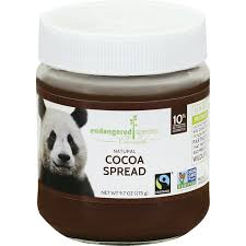 endangered species natural cocoa spread
