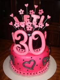 cursive topper 30th birthday party