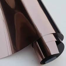 copper silver solar one way mirror