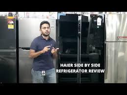 haier side by side refrigerator hrf