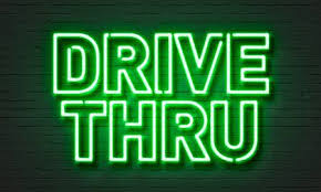 Image result for drive through sign