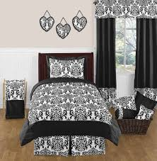 Black And White Isabella Peel And Stick Wall Decal Stickers Art Nursery Decor By Sweet Jojo Designs Set Of 4 Sheets Only 12 27