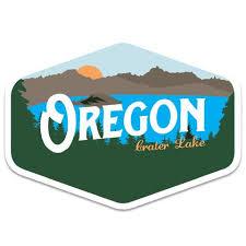 Oregon Stickers Oregon Decals Oregon Bumper Stickers Little Bay Root