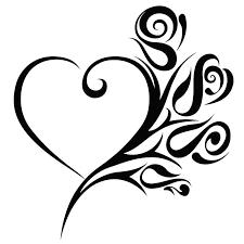 2020 16 15 1cm Die Cut Vinyl Decal Roses Heart Flowers Beautiful Motorcycle Suvs Bumper Car Window Laptop Car Stylings From Xymy777 1 69 Dhgate Com
