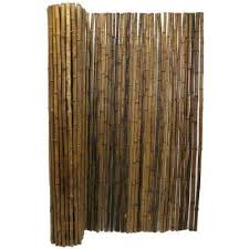 Carbonized Garden Fence Panels Landscaping The Home Depot