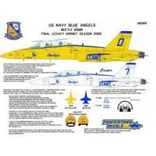 Blue Angels Beetle Bomb Decal Hobbysearch Military Model Store