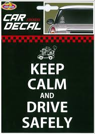 Car Decal Keep Calm Drive Safely Csalg27 Goldwing Gom Another Name Of Love
