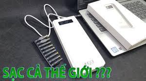 Box sạc QD188 - Sạc dự phòng laptop, Điện thoại, Modem Router ...