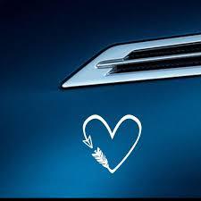 Kind Heart Sticker Car Decal Kind Heart Window Sticker