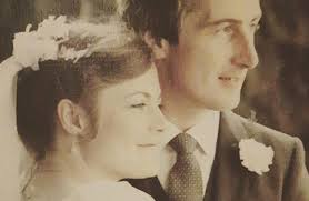I fancied him from the beginning': Our first Christmas as a married couple,  36 years ago