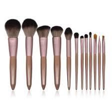 12 pcs high quality makeup brush set