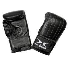 hammer boxing bag gloves leather
