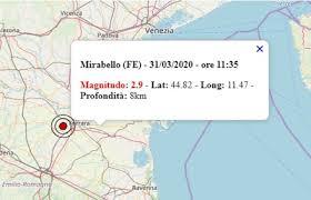 Terremoto oggi in Emilia-Romagna oggi, 31 marzo 2020: scossa M 2.9 ...