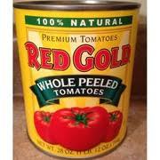 red gold tomatoes whole led