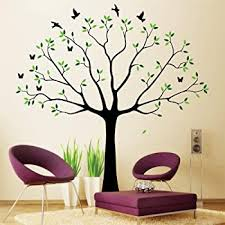 Amazon Com Family Wall Decal Family Tree Wall Decal Stickers Living Room Home Decal Bed Baby Room Wall Decals Memory Tree And Birds Wall Stickers Home Kitchen