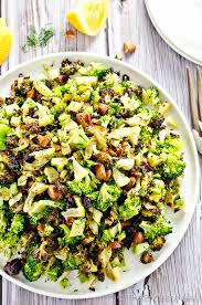 Image result for broccoli-salad-with-pesto-apples-walnuts